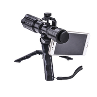 20X Zoom Telescope For iPad Table Cellphone 4K HD Smartphone Telephoto Lens Optical Camera For Samsung xiaomi Huawei HTC Lenses