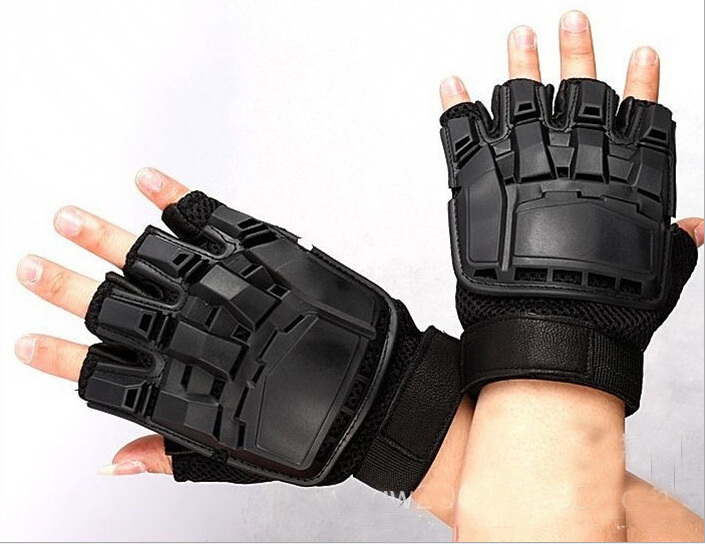 Special Forces Tactical Full-finger Paintball AK Gloves Gifted Outdoor Equipment Deformed Magic Leather Protection Star Mitten