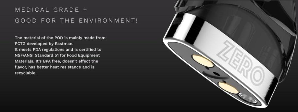 Original Vaporesso Renova Zero Pod Electronic Cigarette Kit 650mAh Built-in Battery & 2ml Tank CCELL Coil All In One Vape Kit (10)