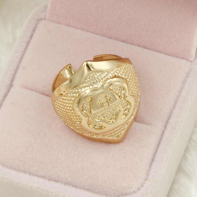 Liffly женские модные ювелирные изделия из золота из Дубаи наборы Очаровательное ожерелье серьги набор украшений индийские свадебные комплекты ювелирных изделий оптом