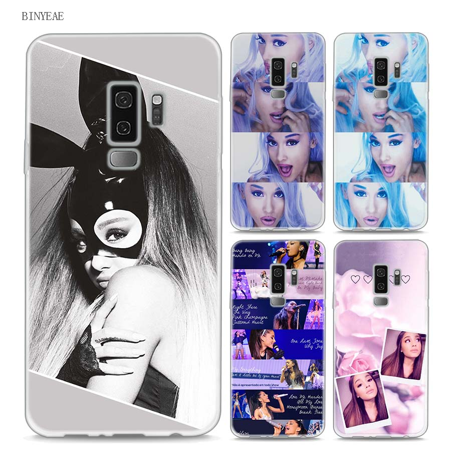 S10e S10 Lite Soft Tpu For Samsung S9 S8 S7 S6 S5 Edge Plus S9+ Cellphones & Telecommunications Ciciber Ariana Grandephone Case For Samsung Galaxy S10 S10 Phone Bags & Cases