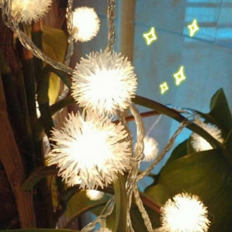 DHL Shipping 100M 600 Led220V fairy snowflake ball decoration lights wedding garden new year party Christmas lights string