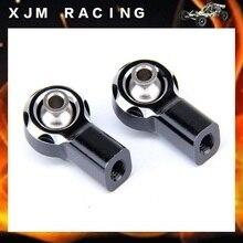 1/5 rc car racing parts CNC metal front rod end set fit hpi rovan km baja 5b parts