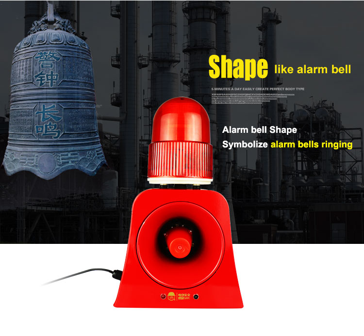 Sinal de aviso beacon luz buzina sirene