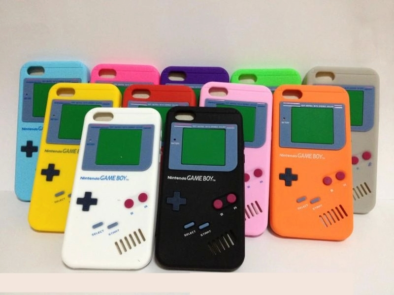 custodia iphone 7 game boy