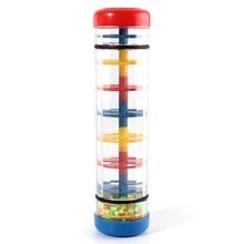 XFDZ-центр раннего обучения детский музыкальный дождевик игрушечная трубка шейкер