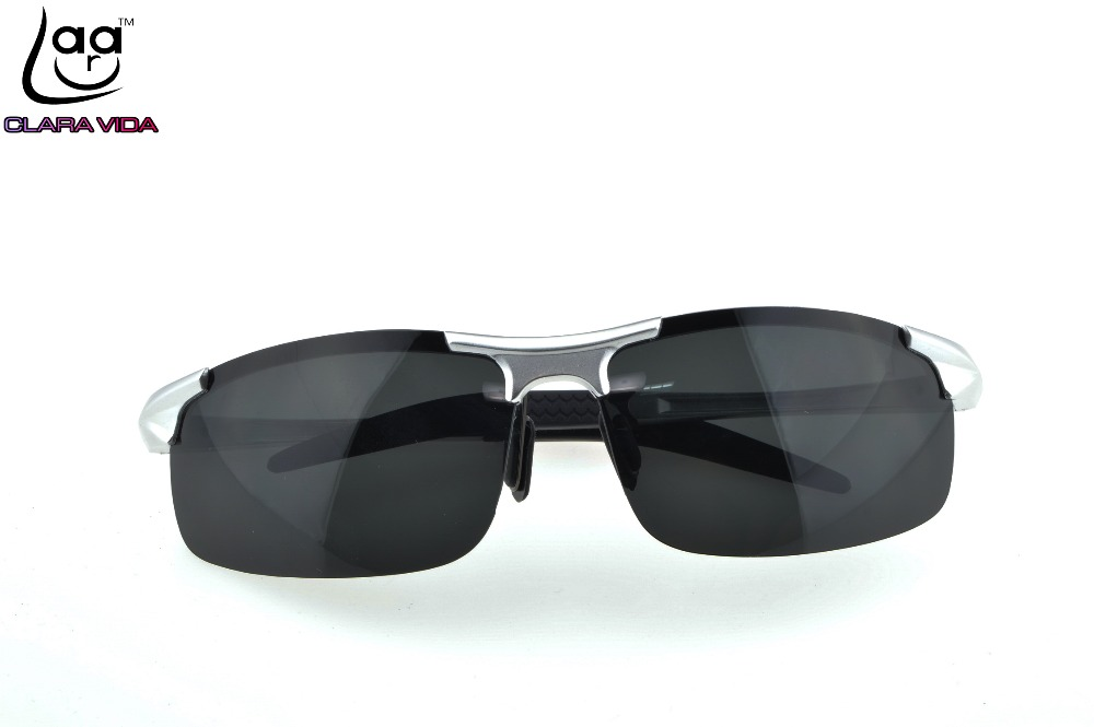 CLARA VIDA BRAND DEPORTE Sport Vintage 2016 Magnesium Alloy Polarized Uv400 Uv 100% Sunglasses Driver Fishing Glasses