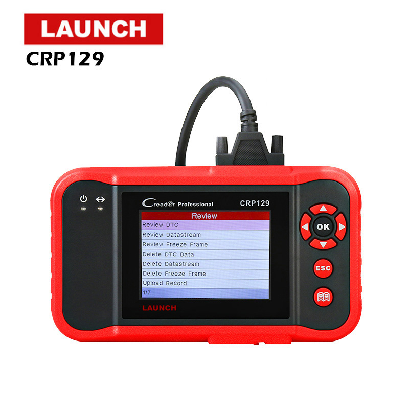 LAUNCH CRP129 Scanner Automotivo obd2 OBD obd 2 Car Code Reader Scan Tool Pro 2018 Launch X431 VIII Auto OBDII Diagnostic Tool launch x431 obd2 diagnostic tool obdii bluetooth adapter scanner cars code readers for ios android m diag
