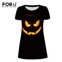 FORUDESIGNS Wholesale Printed Women Dress 3D Halloween Dress Pencil Dress Female Casual Girls Summer Dress Wing