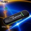 Móvil sin hilos del WiFi del Router Router WiFi coche Dongle de la ayuda 3 G 2100 mhz Mini 3 G WiFi Dongle 7.2 Mbps 3 G USB módem con ranura de la tarjeta SIM