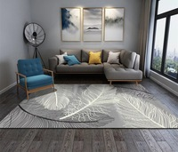 Simplicity Nordic Style Printed Carpet Big Size High Quality Home Rug Modern Living Room Carpet Nordic Ins Geometric Pattern Rug