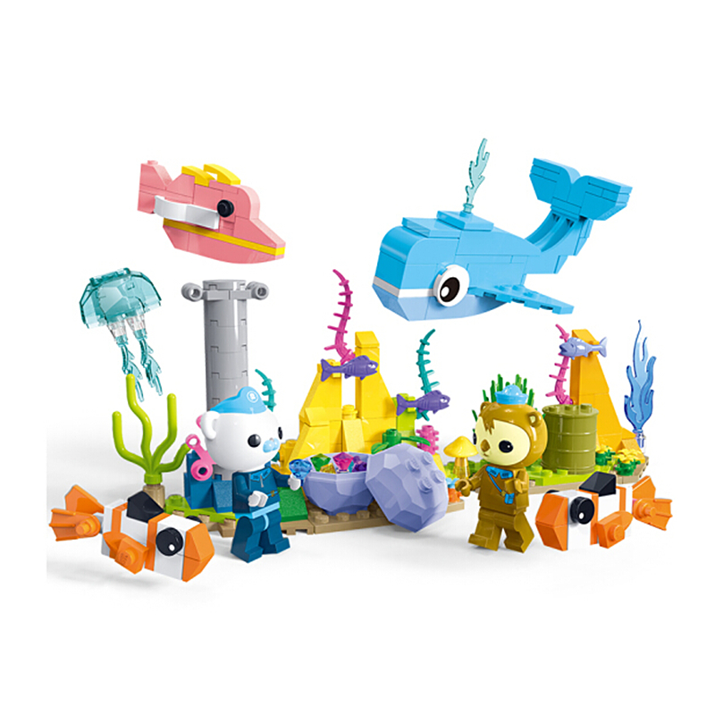 Octonauts Barnacles Discover Mysterious Treasures Building Blocks Sets Bricks Classic Model Kids Toys Gifts Compatible Legoings