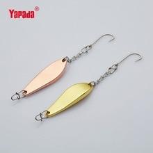 YAPADA Ice Fishing  508 Beetle 8g/12g BKK Hook 41mm/48mm Multicolor Metal Jigging Spoon Fishing Lures