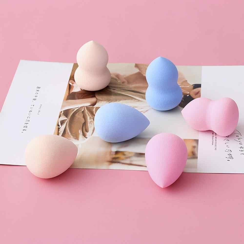 14 色化粧品パフブレンド水ドロップパウダーひょうたん形状メイクアップファンデーションコンシーラースポンジ美容パフツール CW34