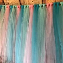 100 Yards Polyster Wedding Backdrop Netting Cloth Decorations