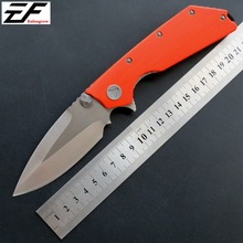 Eafengrow EF335 Folding Camping Knives D2 Steel Blade G10 Handle Hot Outdoor Knife EDC Hand Tool eafengrow ch3505 folding pocket knife d2 steel blade g10 handle camping hunting knife edc outdoor tool hand tool knives
