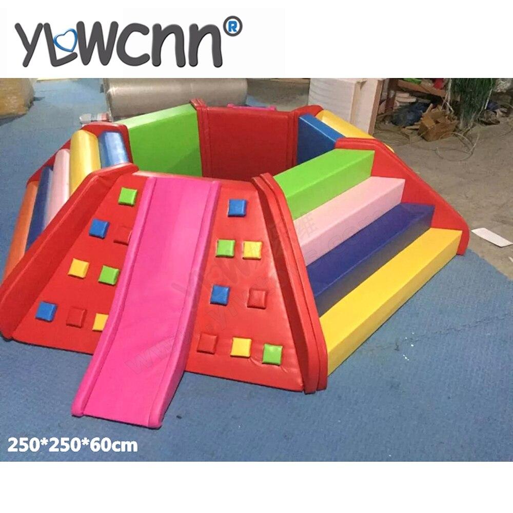 YLW logiciel personnalisé enfants peluche bébé aire de jeux intérieure centre YLW-INA171058