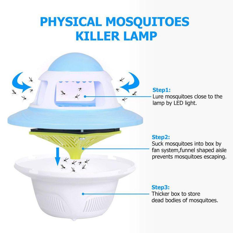 de pragas elétrica mosquito assassino fly armadilha