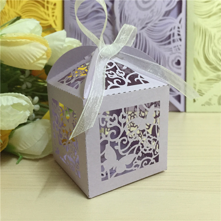10pcs Bomboniere Personalized Wedding Favors And Gifts Boxes Favors