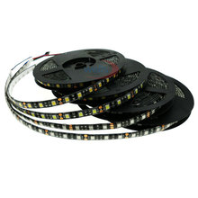 Led Light 5050 SMD 5M 60LEDs/m Black PCB IP20 IP65 Waterproof RGB White/Warm white/Blue/Red/Green Flexible Led Strip Light DC12V