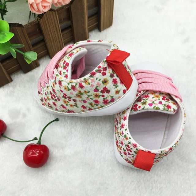 2017 Toddler Kids Casual Lace-Up Sneaker Soft Soled Baby Crib Shoes First Walkers 0-18M Hot Selling 3