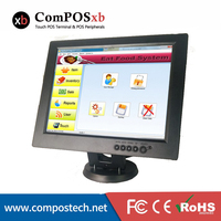 12 Inch Touch Screen Computer Monitor Mall Monitor Cash Register Display