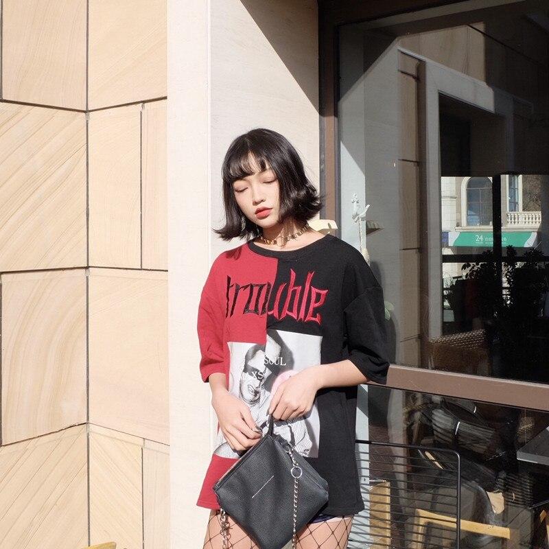 HTB1wEhwQpXXXXb7XXXXq6xXFXXXk - Kylie jenner Trouble T-Shirts Summer