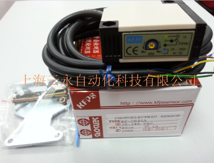 new original KF-CR40A Taiwan  kai fang KFPS photoelectric sensor new original xp sr200e4 taiwan kai fang kfps photoelectric sensor