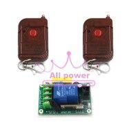 220V 30A Single Channel Remote Control Switch Various Control Splitter 1 Key Remote Control Switch 100