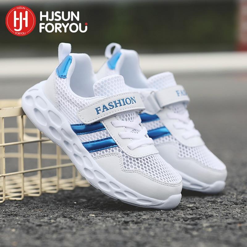 2019 Heißer Neue Kinder Schuhe Marke Mesh Turnschuhe Mode Atmungsaktive Kinder Sport Schuhe Jungen Mädchen Beiläufige Laufende Schuhe Schuhe