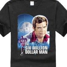 295df64f661 The Six Million Dollar Man V4 T Shirt Black All Sizes S To 4Xl Alan  Oppenheimer