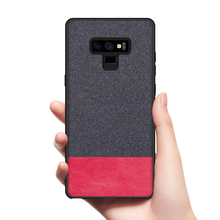 CoolDeal for Samsung Galaxy Note 9 case Note9 back cover soft silicone edge shockproof fabric
