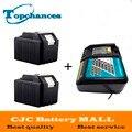 Alta Qualidade 2 PCS 18 V 4.5Ah Bateria de Substituição Ferramenta de Poder para Makita 194205-3 194309-1 BL1845 BL1830 LXT400 + Carregador