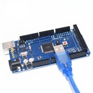 Image 1 - 20 Pcs Met Usb Kabel MEGA2560 Board Mega 2560 R3 Mega2560 REV3 ATmega2560 16AU,10 Pcs ATMEGA16U2 MU Board