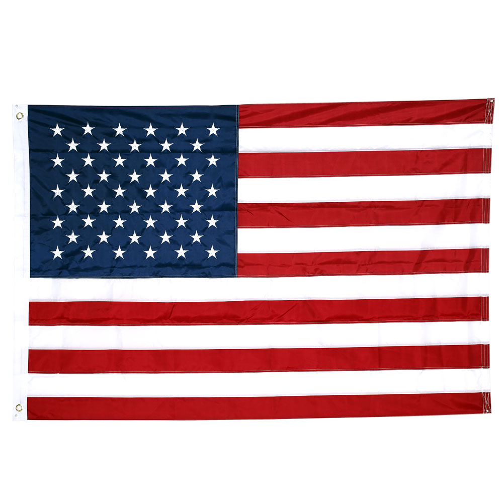10pcs lot national flag country flag stick flags flag of the united - American Us Flag 210d Nylon Embroidered Stars And Sewn Stripes Usa Banner Flag 3 5ft