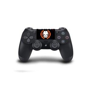 Image 2 - Joker tasarım dokunmatik yüzey PVC vinil cilt kapak PS4 için Playstation Dualshock 4 Pro Slim çıkartma
