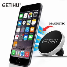 GETIHU Car Holder Air Vent Mount Magnet Magnetic Cell Phone Mobile Holder Universal For iPhone 6 6s 7 GPS Bracket Stand Support