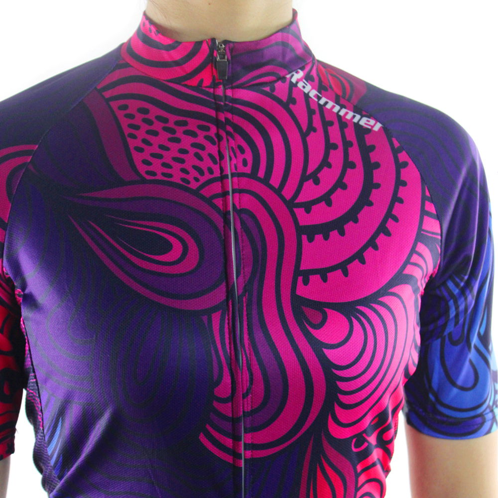 Racmmer 2018 Breathable Cycling Jersey Women Summer Mtb Cycling Clothing  Bicycle Short Maillot Ciclismo Bike Clothes  NS 05-in Cycling Jerseys from  Sports ... 63d416645
