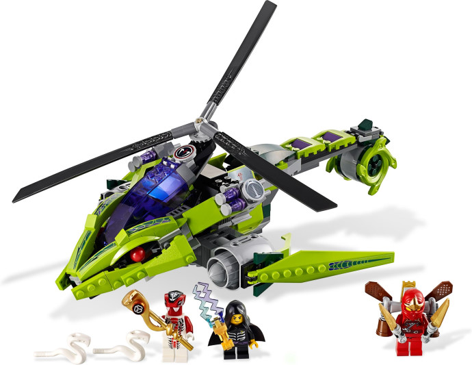 Toys for children CHINA BRAND 9757 self-locking bricks Compatible with Lego Ninjago Rattlecopter 9443 no original box no–talk therapy for children