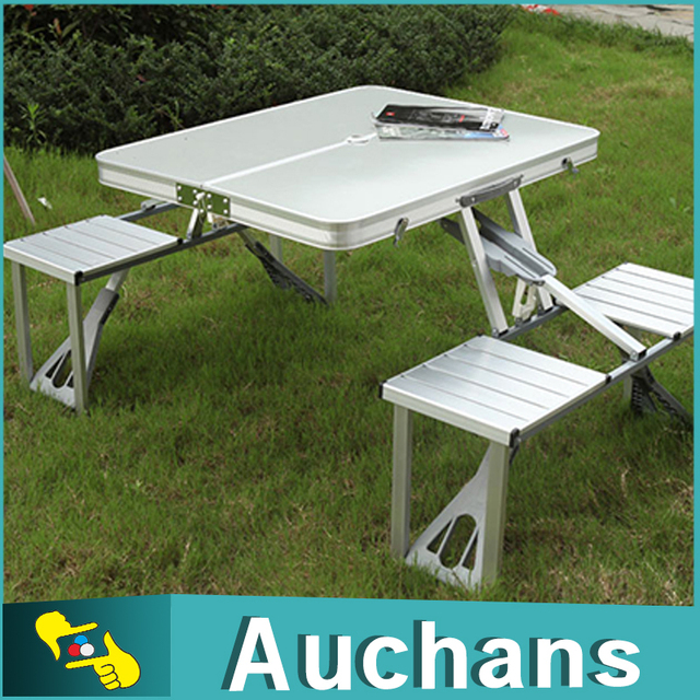 Outdoor picnic folding table and chair portable foldable aluminum outdoor picnic folding table and chair portable foldable aluminum desk chair set watchthetrailerfo
