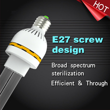 220V UVC Ultraviolet Germicidal Lamp E27 Coop Or Nest Station Sterilization Lamps Coops UV Disinfection Lights 15W 20W 30W High Ozone Sterilizer For Coops