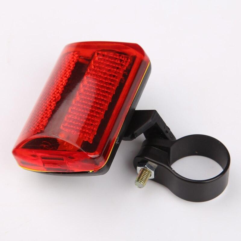 5 led de v lo vtt arri re feu arri re v lo arri re selle rouge lampe avertissement lampe de. Black Bedroom Furniture Sets. Home Design Ideas