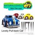 Envío Libre VW Escarabajo de Dibujos Animados de coches Pixar Cars Funde Metal Divertidos Dibujos Animados de Coches Juguetes Para Bebés
