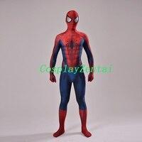 Concept Art Spider Man Cosplay Halloween Costume 3D Design Spiderman Costume With Eye Lenses