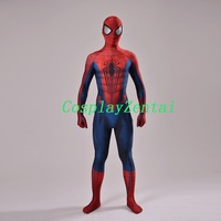 Concept Art Spider Man Cosplay Halloween Costume 3D Design Spiderman Costume With Eye Lenses