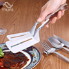 TTLIFE Multifunctional High Grade Stainless Steel Barbecue Clip BBQ Tongs Fried Shovel Bread Meat Vegetable Clamp