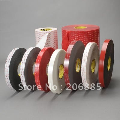 100% Original 3M VHB 4930 two sided acrylic adhesive tape 12mm*33M,we can offer other size 3m acrylic tape vhb 4991adhesive double sided tape outstanding durability performance 0 5 in 18yd 5rolls we can offer other size