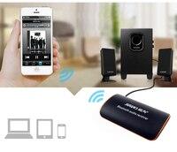 Bluetooth 4.1 ricevitore audio musica stereo senza fili adattatore 3.5mm AUX car Hifi amplificatore stereo bass altoparlanti Giocatore auricolare