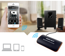 bluetooth 4.1 wireless audio receiver stereo music adapter 3.5mm AUX car Hifi stereo amplifier bass speakers headset Player