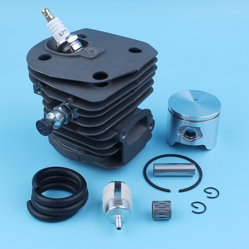 Tools : Cylinder Piston Kit For Jonsered CS 2149 CS 2150 CS 2152 CS 2153  44mm  Chain Saw 503-86-99-71503869903